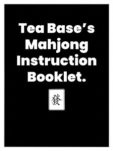 The Cover of Tea Base's Mahjong Instruction Booklet