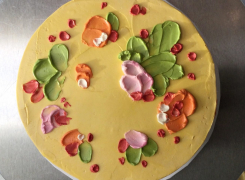 TD Community Sunday: Paint Your Cake with Libby Brewer-Dulac from Sift Baking Co.